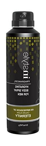 Instyle Impression of Eternity Men's Body Spray, 5 Ounce