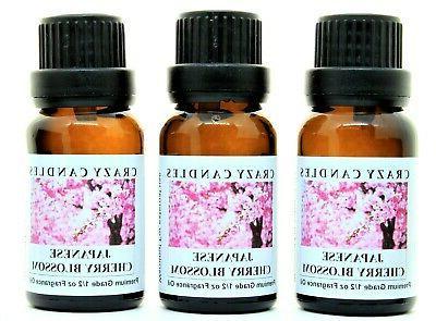 japanese cherry blossom 3 bottles