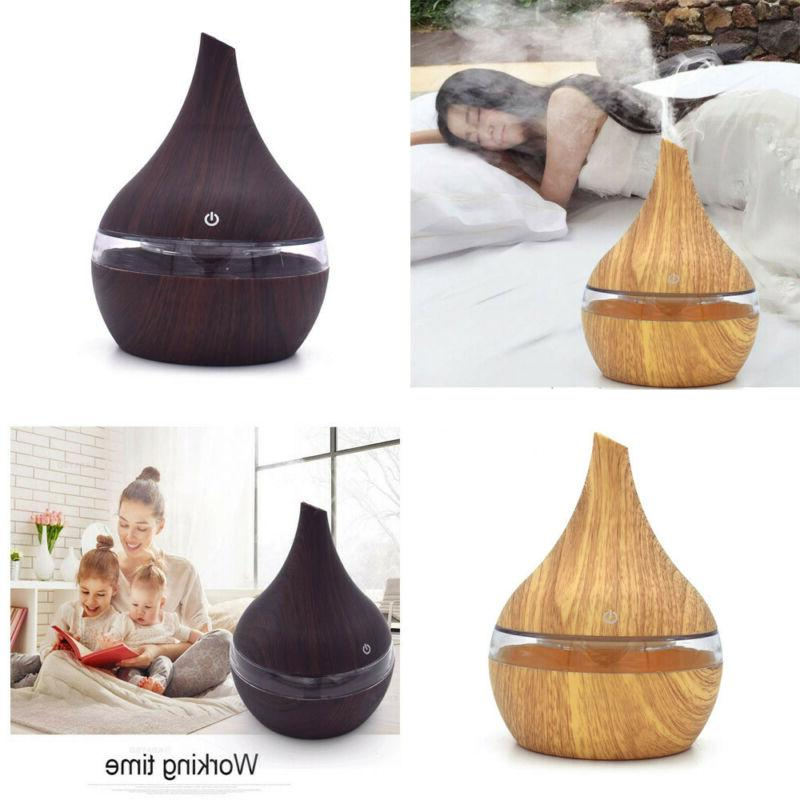 LED Aroma Essential Diffuser Humidifier Purifier Aromatherapy New