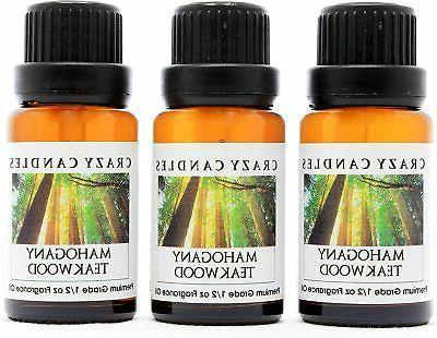 mahogany teakwood 3 bottles grade