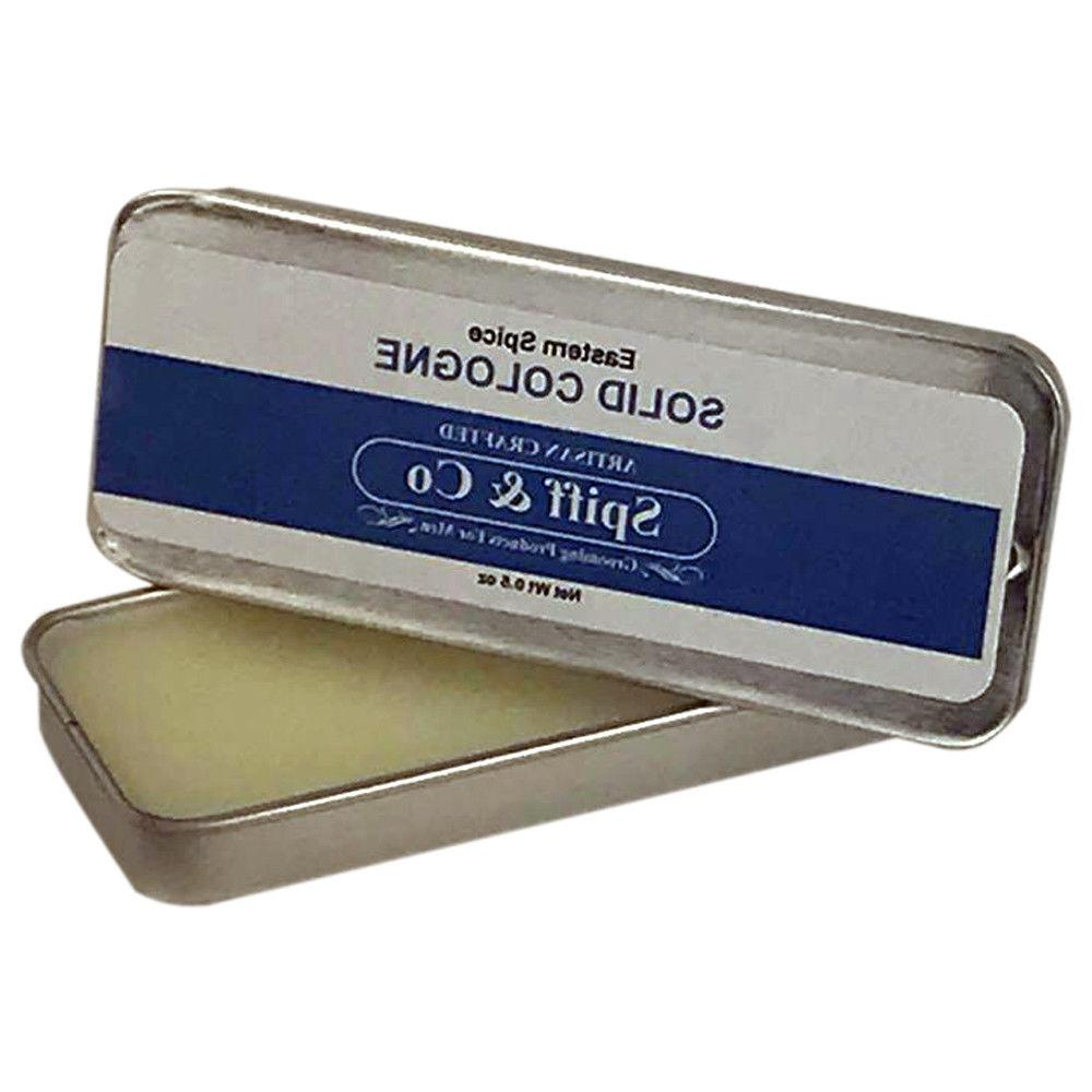 Mens Solid Cologne Eastern Spice Solid Cologne .5oz By Spiff