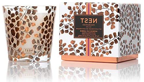 moroccan amber 3 wick candle