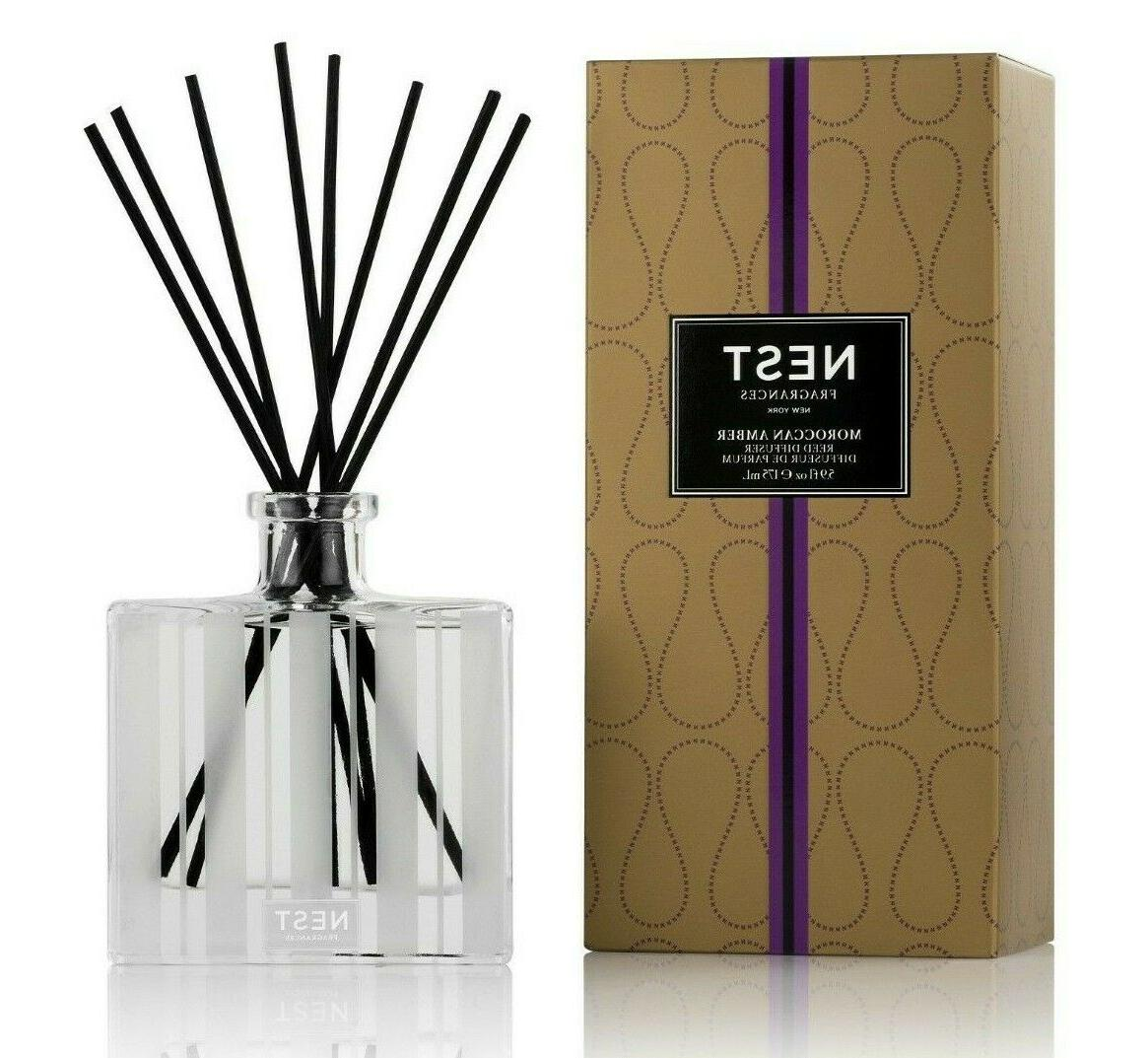 moroccan amber scented reed diffuser
