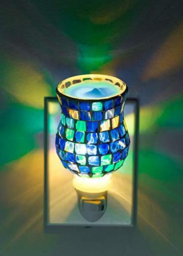 Dawhud Glass Plug-in Fragrance Wax Warmers
