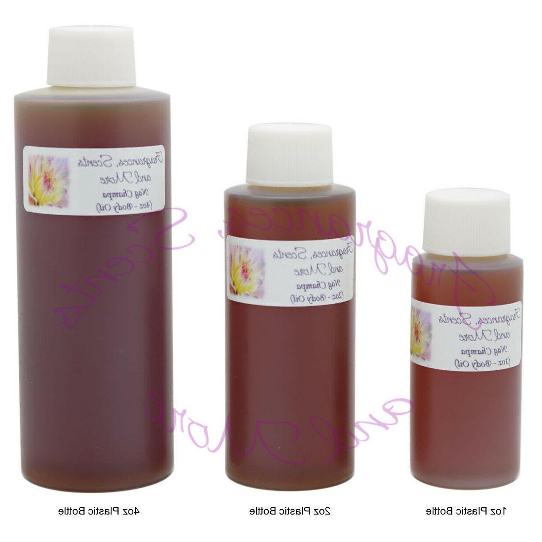nag champa perfume body oil 7 sizes