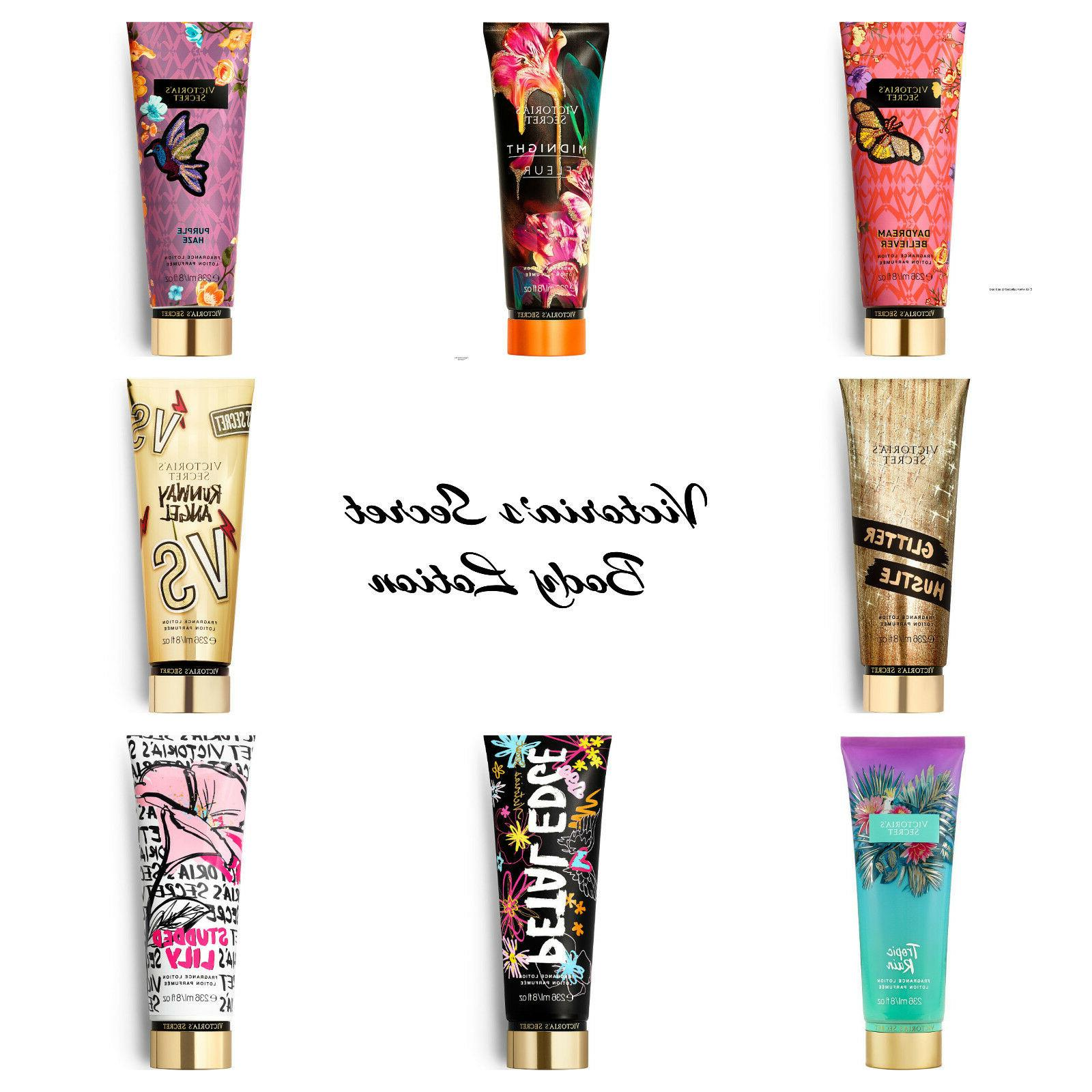 New Authentic-Victoria's Secret-Fragrance Body Lotion 8oz Li