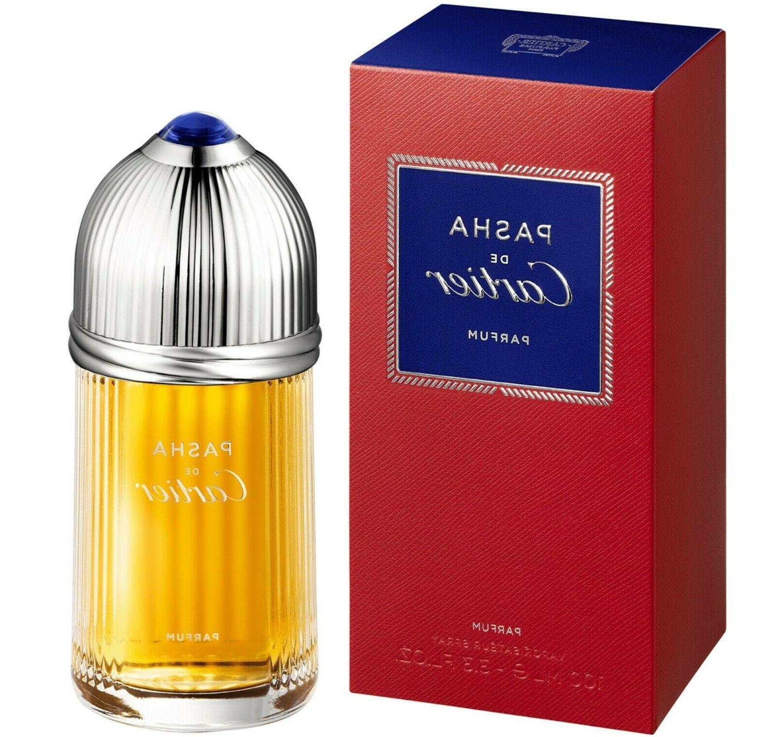 Cartier Pasha Parfum EDP 3.3 Oz Mens