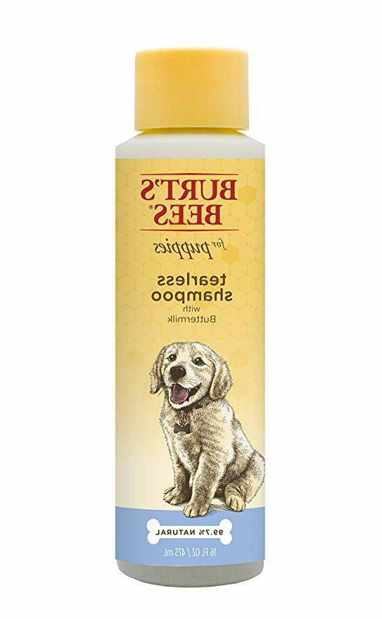 Burt's Bees for Dogs All-Natural Tearless Puppy Shampoo with