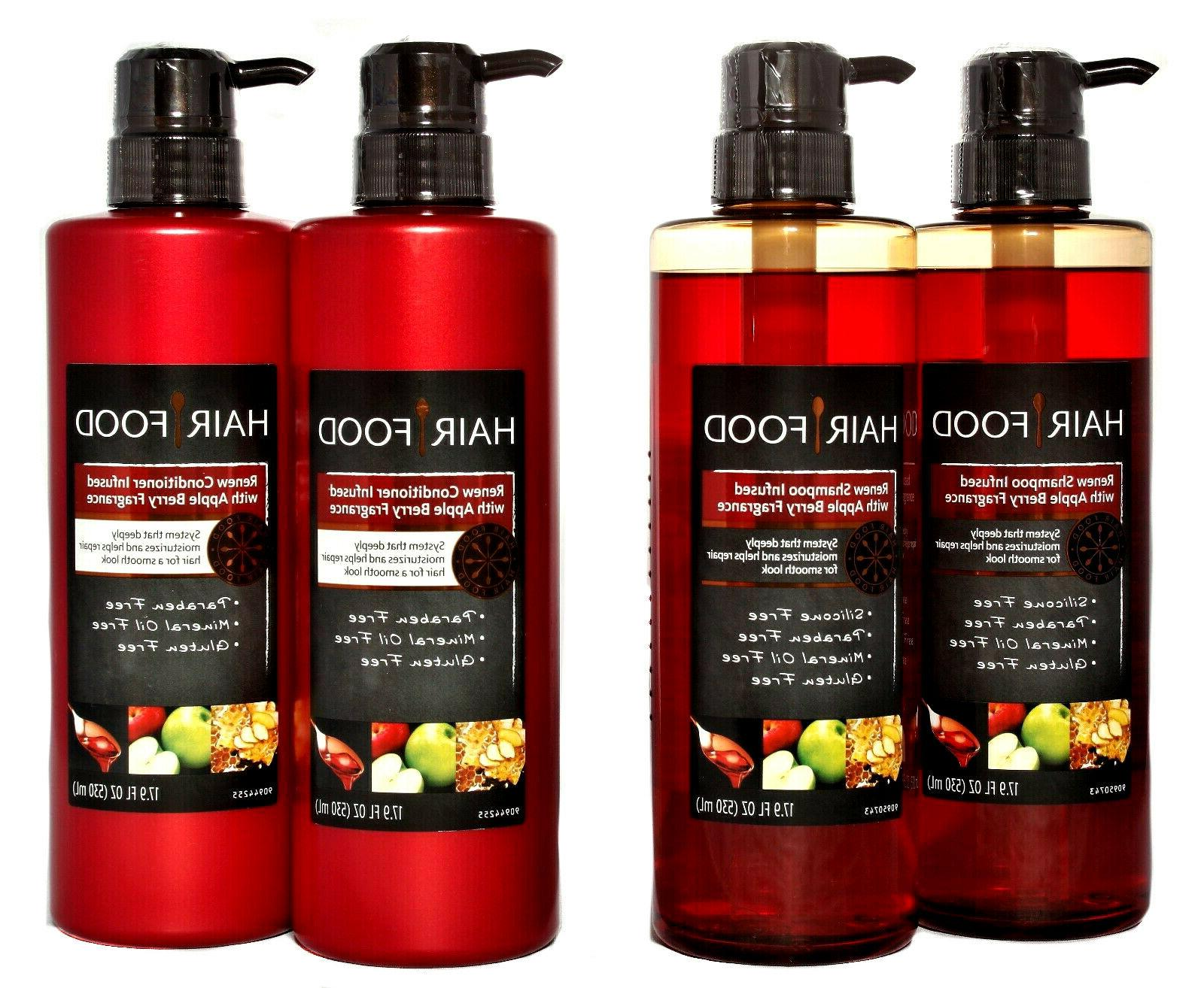 renew shampoo and or conditioner apple berry