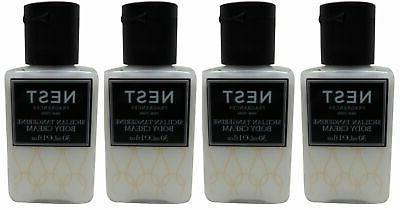 Nest Fragrances Sicilian Tangerine Body Cream lot of 4 Total