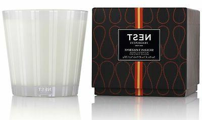 sicilian tangerine luxury candle