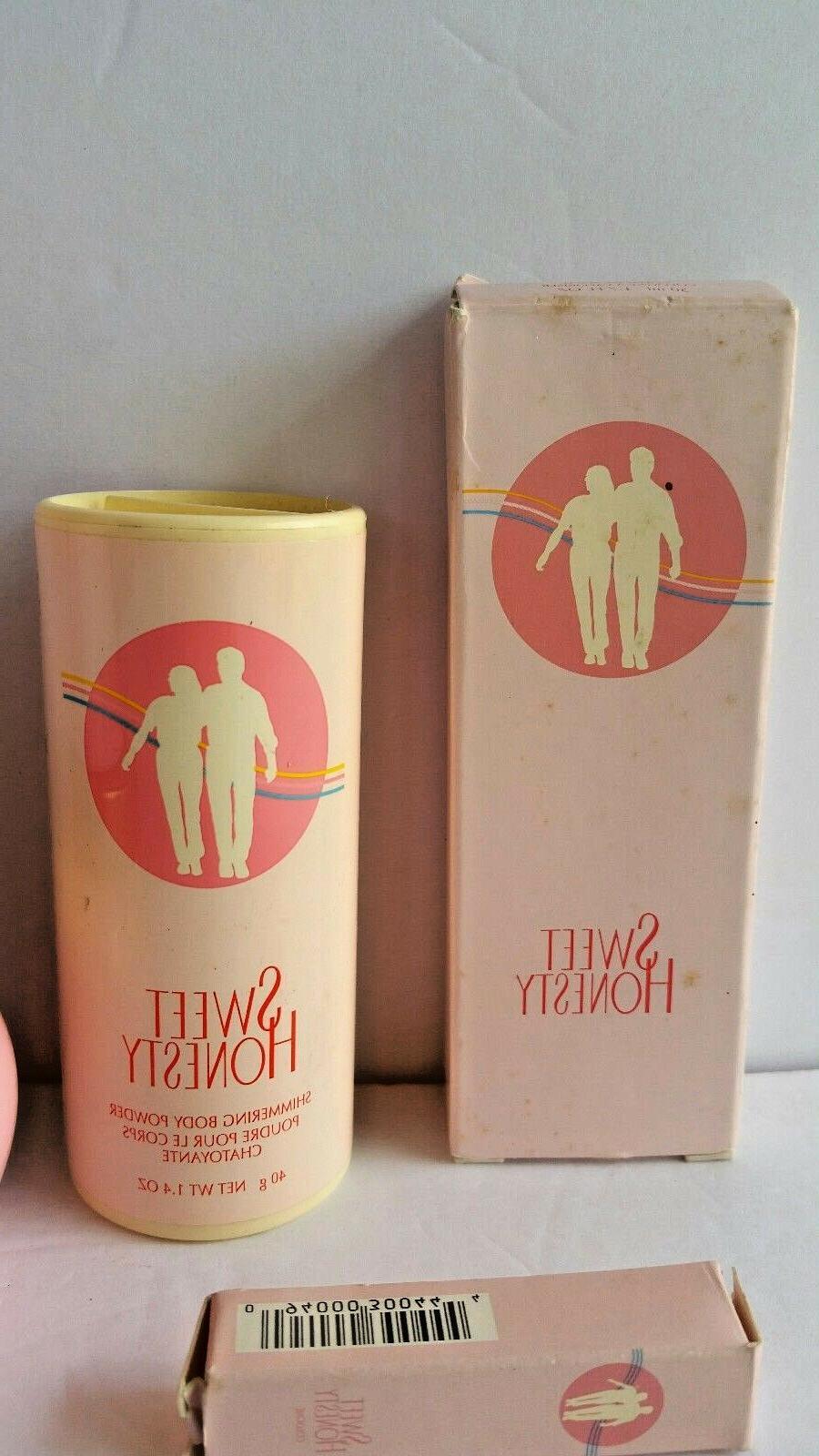 Avon Honesty 5 Piece Gift Set Powder Deodorant Spray