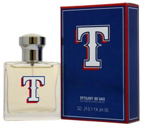 Texas Rangers by Texas Rangers for Men - 1 oz EDT Spray
