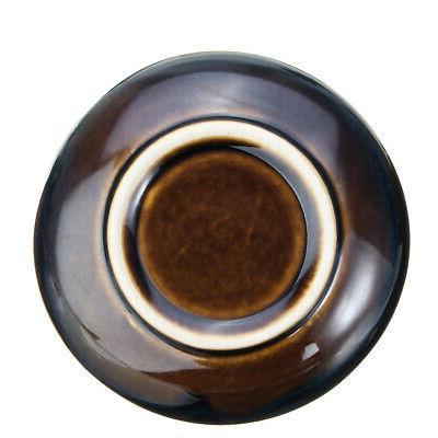 US Ceramic Incense Holder Burner Lotus Plate Censer Home Fragrances Incense
