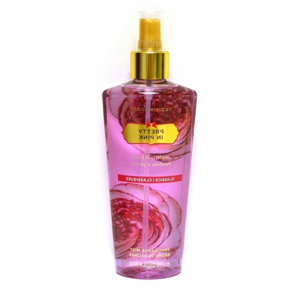 Victoria's Secret PRETTY IN PINK Fragrance Mist Spray 8.4oz/