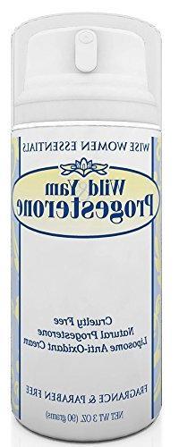 Wise Essentials Wild Yam & Progesterone Cream With Chaste Tr