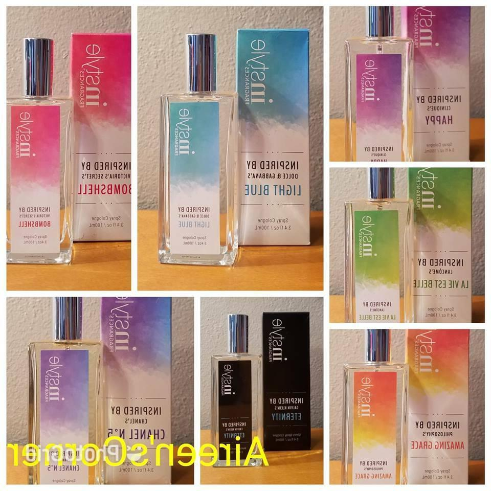 women and men spray cologne 3