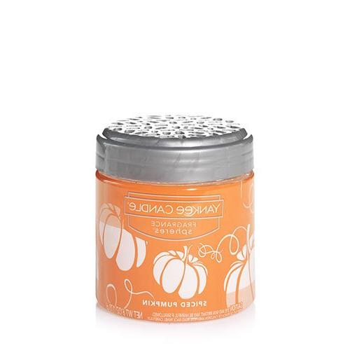 yankee candle spiced pumpkin fragrance spheres odor neutrali