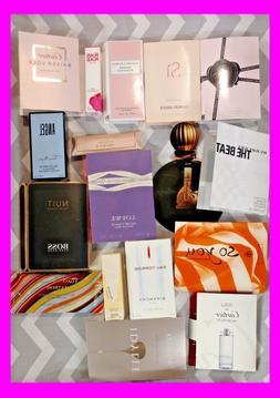 Lot of  High End Designer WOMEN`S PERFUME SAMPLES Random Fra