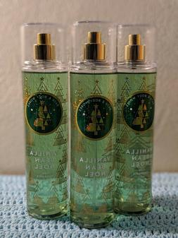 Lot Of 3 Bath & and Body Works VANILLA BEAN NOEL Fine Fragra