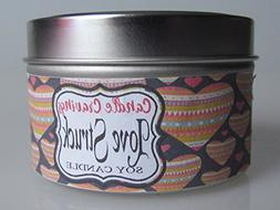 Love Struck Scented Soy Travel Tin Container Candle With Woo