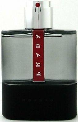 Prada Luna Rossa Carbon 100Ml 3.4 Fl.oz Eau De Toilette Spra