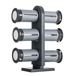 YCRD Magnetic Spice Stand Stand-up 6 Pack Kitchen Condiment