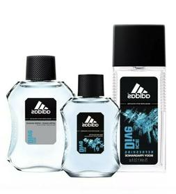 Adidas Men's Cologne Ice Dive Body Fragrance, After-Shave, E