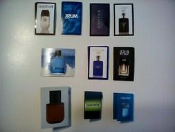 Avon Men's Fragrance Samples  Some Discontinued  Free Shippi