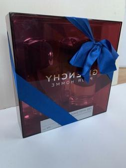 Men's Box Gift Set Givenchy Pour Homme 3.3 Oz EDT Spray &
