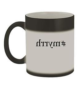 #myrrh - 11oz Color Changing Hashtag Sturdy Ceramic Coffee C