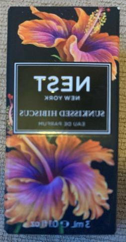 NEST Sunkissed Hibiscus Eau de Parfum .1 oz 3 ml travel purs