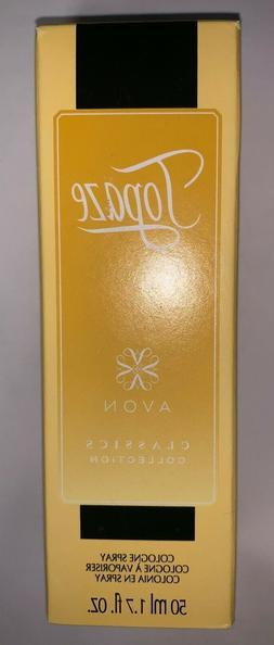 New Avon TOPAZE Cologne Perfume Spray 1.7 oz. Limited Editio