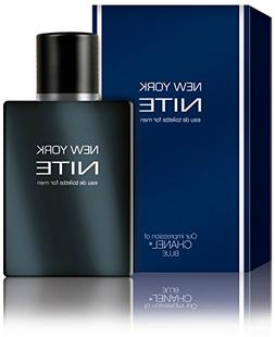 New York Nite for Men 3.3 oz cologn perfume / 2 perfumes dea