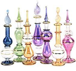 NileCart™ Egyptian Perfume Bottles Wholesale Set Of 12 Siz