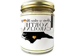 North Carolina Homesick Scented Soy Candle | 9oz Plant-Based