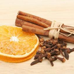 ORANGE SPICE Perfume Oil Body Fragrance Roll On Cinnamon San