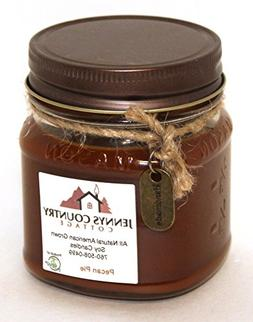 pecan pie scented soy candle