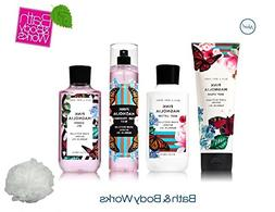 Bath & Body Works PINK MAGNOLIA Deluxe Gift Set Lotion ~ Cre
