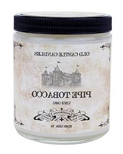 Pipe Tobacco Candle 8oz, Cigar Fragrance, Gifts For Men, Per