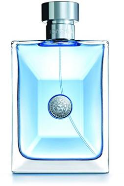 Versace Pour Homme Eau de Toilette Spray for Men, 200 ml, 6.