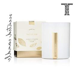 Thymes - Goldleaf Aromatic Scented Candle - Long Lasting Ele