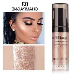Pressed Highlighter Liquid Shimmer Smooth Long-lasting Glow