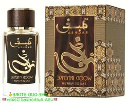 Raghba Wood Intense EDP 100 ML by Lattafa Perfumes:🥇Top T
