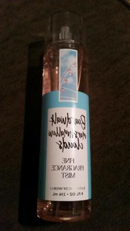 RARE Bath & Body Works Boardwalk Marshmallow Clouds fragranc