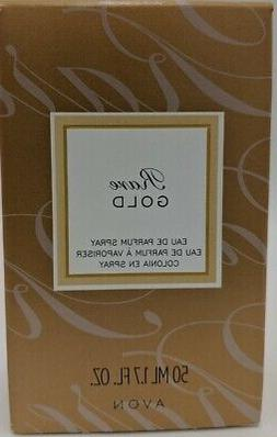 Avon Rare Gold Eau De Parfum Spray 1.7 oz FOR WOMEN