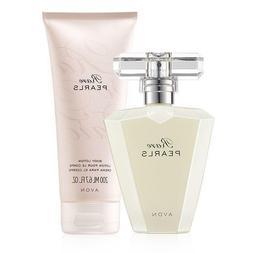 Avon Rare Pearls Eau De Parfum Spray 1.7 fl. oz. + Body Loti