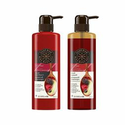Hair Food Renew Shampoo Conditioner Infused with Apple Berry