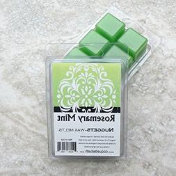 Rosemary Mint Wax melts, strongly scented no burn home scent