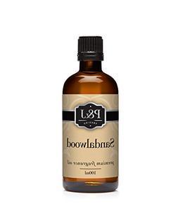 Sandalwood Fragrance Oil - Premium Grade Scented Oil - 100ml